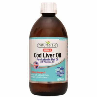Cod Liver Oil Liquid with Vitamin A and D