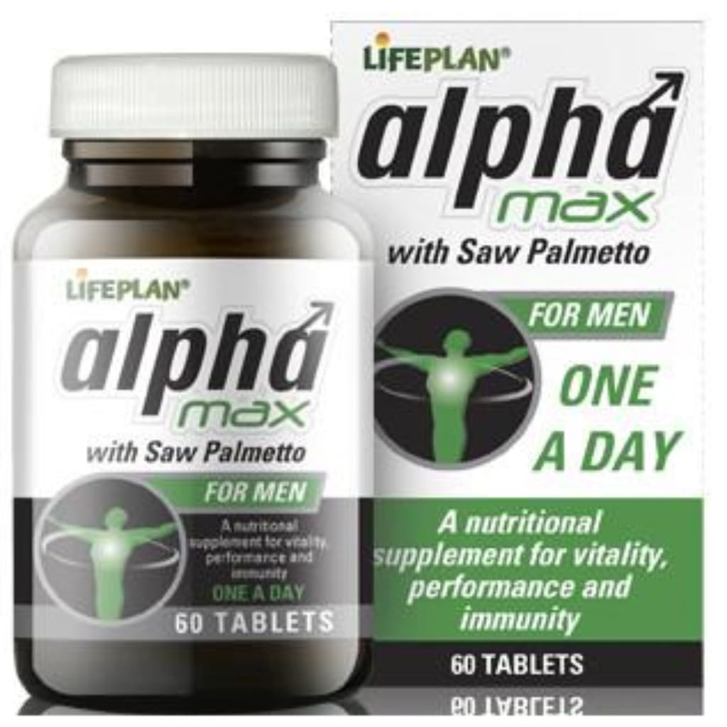 Alpha Max with Saw Palmetto