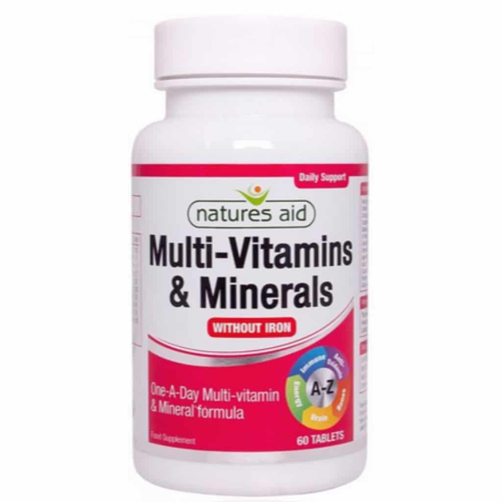 Multi Vitamins (without iron)