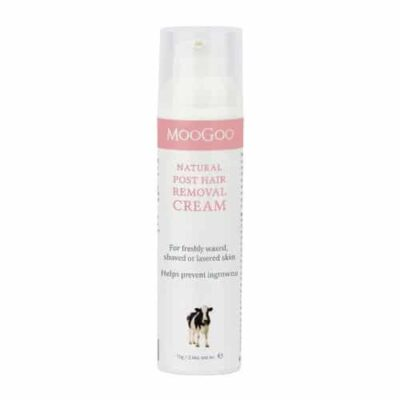 Moogoo post hair removal cream