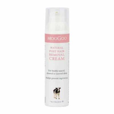 Moogoo post hair removal cream