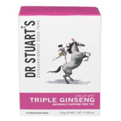 Triple Ginseng Plus Herbal Tea