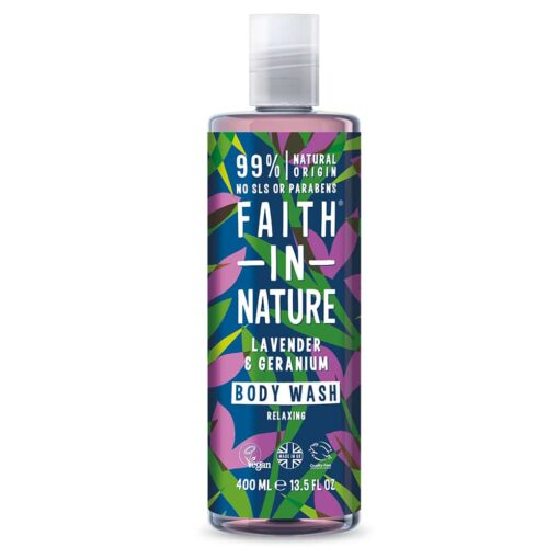 Lavender & Geranium Body Wash 400ml