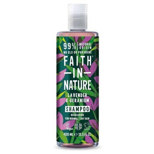 Lavender & Geranium Shampoo 400ml