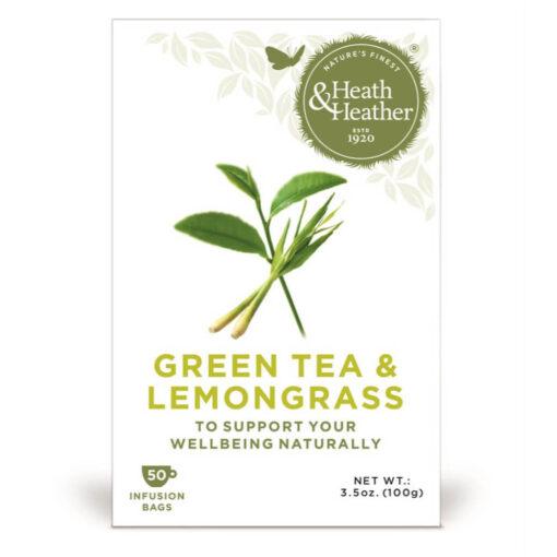 Green Tea & Lemon Grass tea