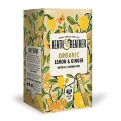 Organic Lemon & Ginger Tea
