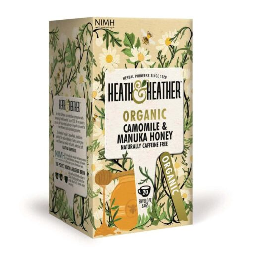 Organic Camomile & Manuka Honey 20 bag