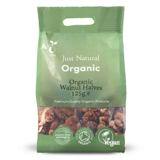 Organic Walnut Halves