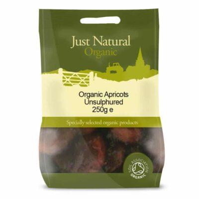 Organic Apricots Unsulphured 250g