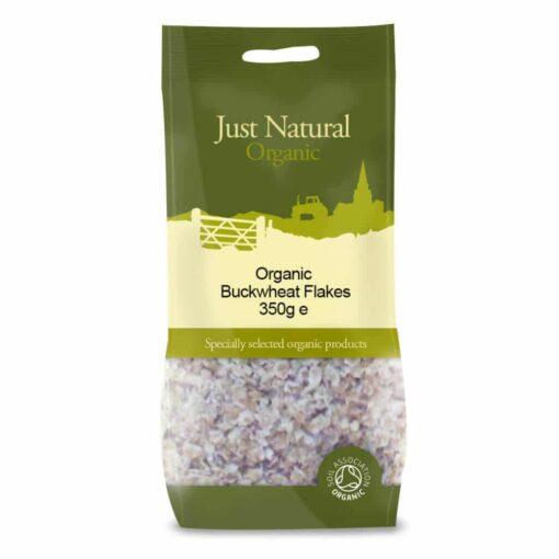 Organic Buckwheat Flakes