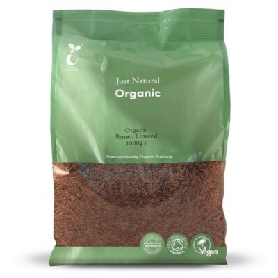 Organic brown linseed 1000g