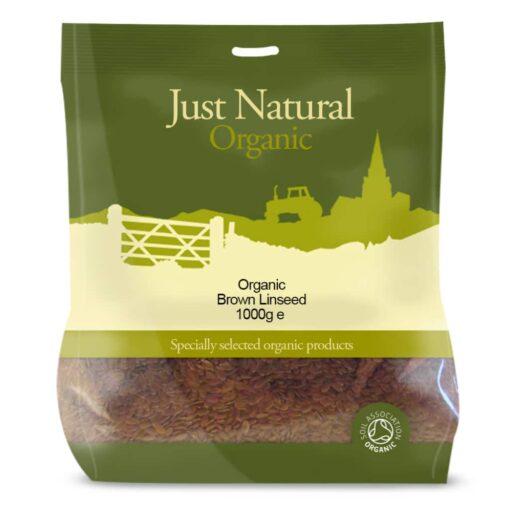 Organic Brown Linseed 1000g