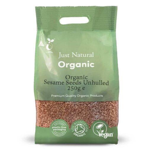 Organic Sesame Seeds Unhulled