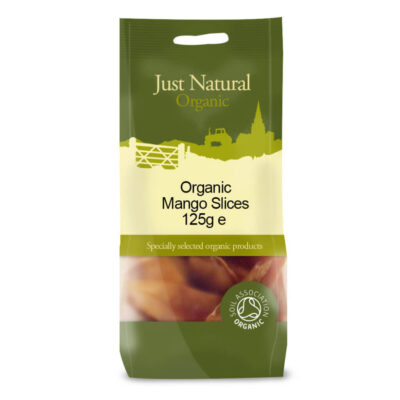 Organic Mango Slices 125g