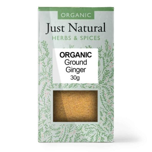 Organic Ground Ginger (Box) 30g