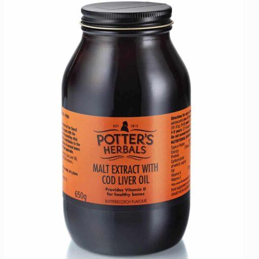 Malt Extract & Cod Liver Oil & Honey & Butterscotch