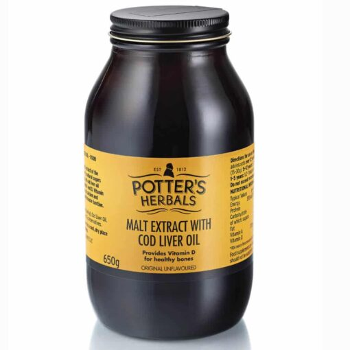 Potter Malt Extract and Cod Liver Oil