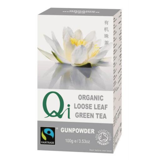 Organic China Gunpowder Pearl Tea