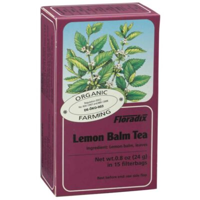 Lemon Balm Organic Herbal Tea 15 filterbags