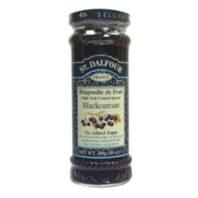 St Dalfour Blackcurrant Fruit Spread