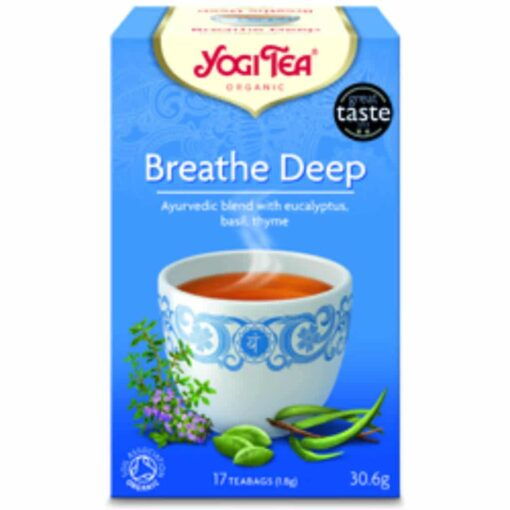 Yogi Tea Breathe Deep Organic 17 Bag