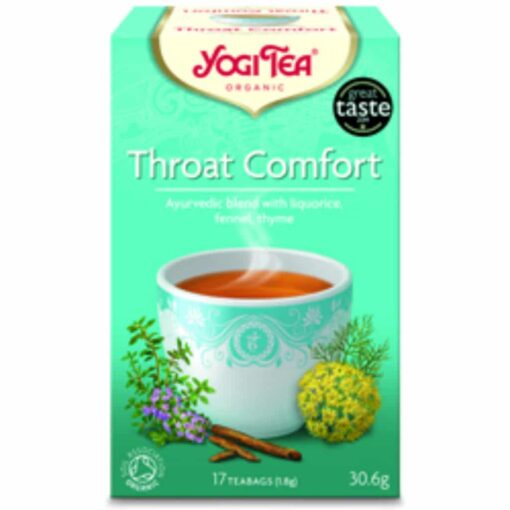 Yogi Tea Throat Comfort Organic