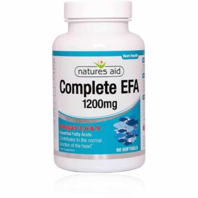 Natures Aid Complete EFA is sourced from small oily fish