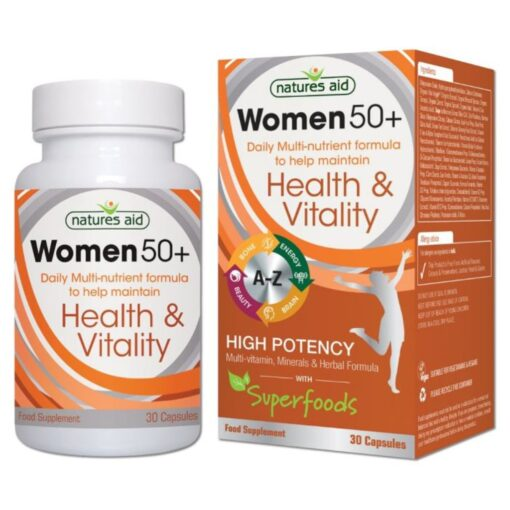 Women's 50+ Multi-Vitamins & Minerals