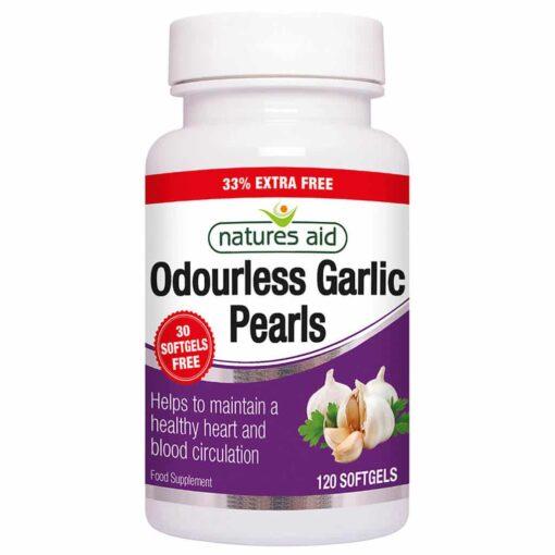Garlic Pearls Odourless