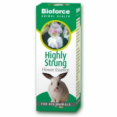 Highly Strung Essence Bach flower remedy for pets