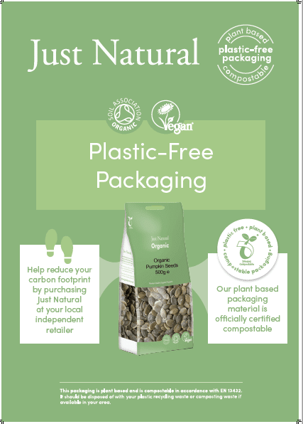 just natural plastic free packaging