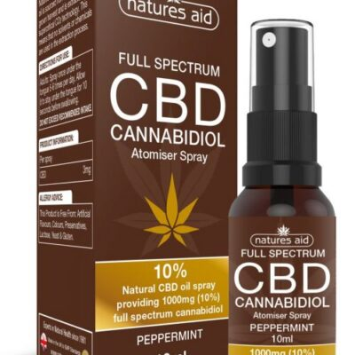 Natures Aid Full Spectrum CBD Oil Spray 10%