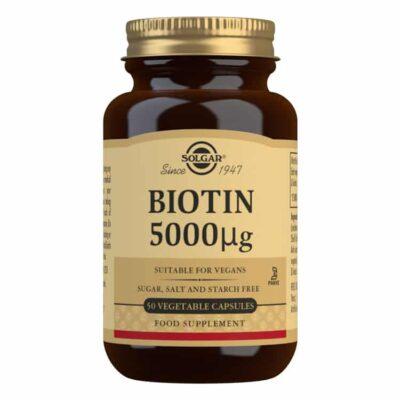 Solgar® Biotin 5000 µg