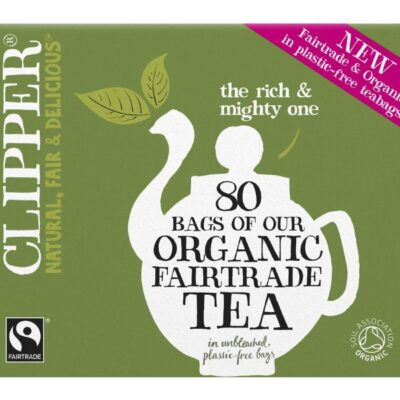 Organic & Fair Trade Everyday 80 Tea Bags