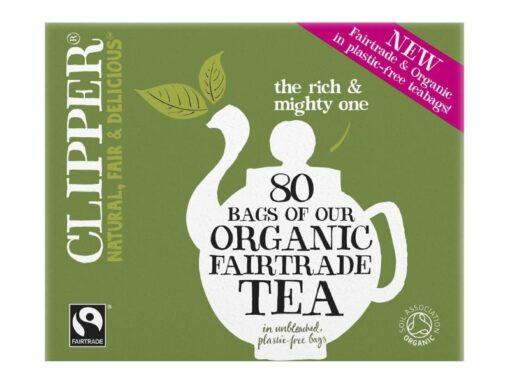 Organic & Fair Trade Everyday 80 Tea Bags