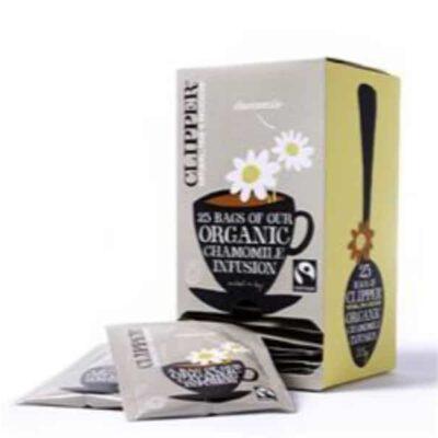 Fairtrade Organic Chamomile Infusion Tea