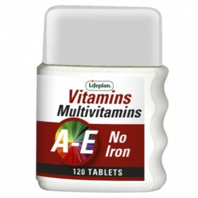 MULTIVITAMINS AE NO IRON