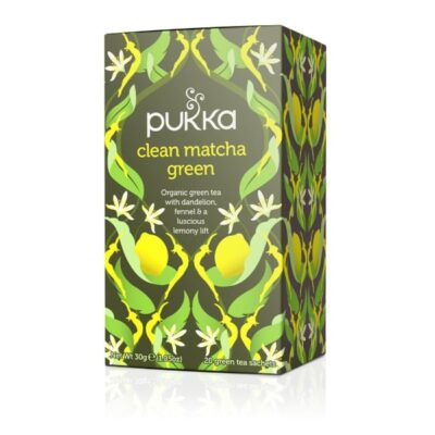 Pukka Herbs Clean Matcha Green Tea