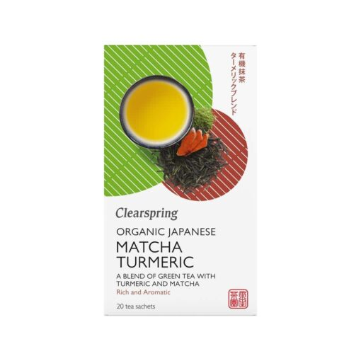 Clearspring Organic Matcha Turmeric Tea