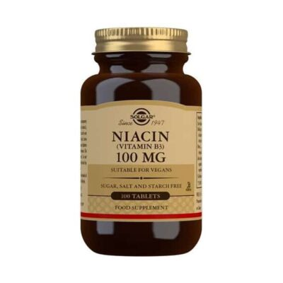 Niacin (Vitamin B3) 100mg Tablets