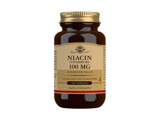 Niacin (Vitamin B3) 100mg Tablets
