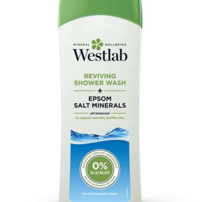 Reviving Epsom Salt Shower Wash